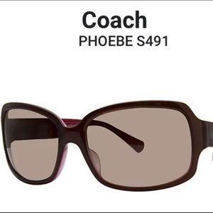 COACH S491 PHOEBE SUNGLASSES 🕶 in ORIGINAL CASE